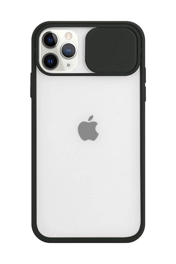 iPhone 11 Pro Max Arka Kamera Korumalı Silikon Kılıf