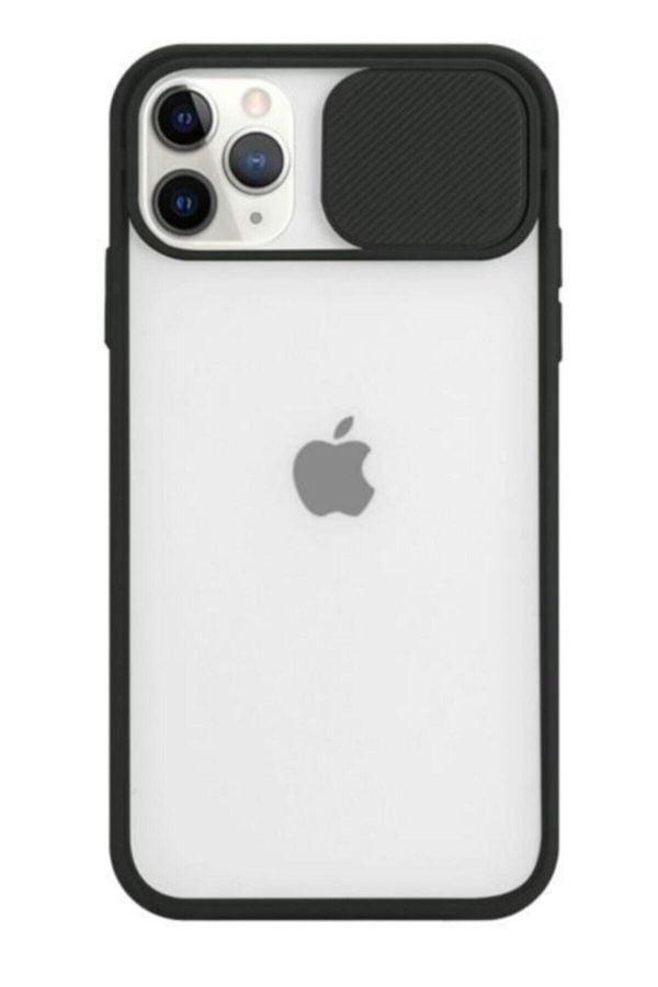 iPhone 12 - 12 Pro Arka Kamera Lens Korumalı Silikon Kılıf