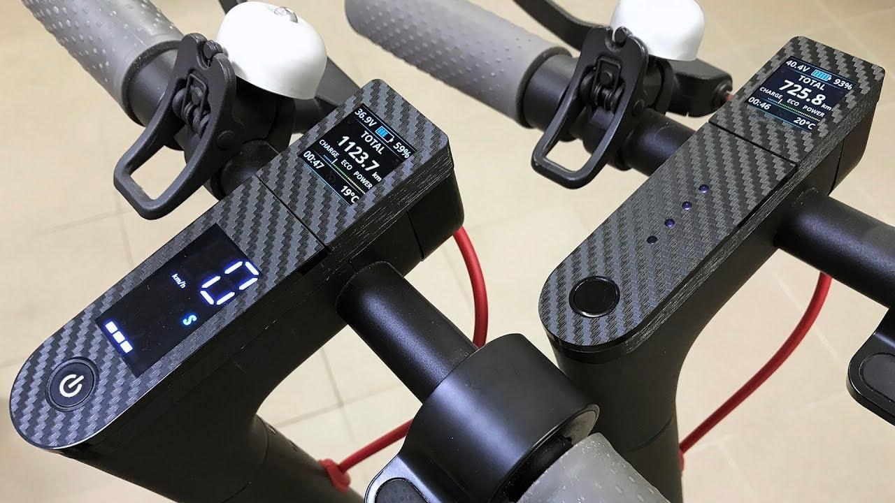 Scooter M365 Dash Board Ekran Değişimi