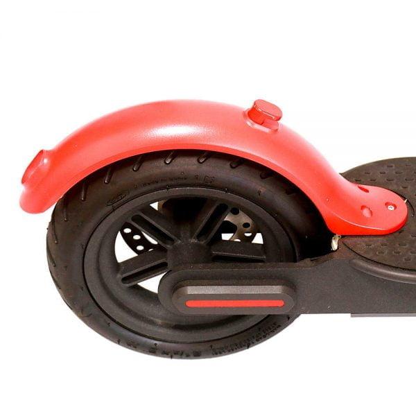 Scooter Kırmızı Çamurluk Değişimi