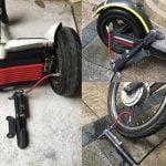 Scooter Lastik Şişirme